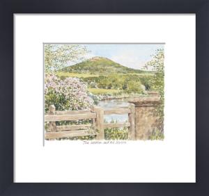 The Wrekin and Severn by Glyn Martin