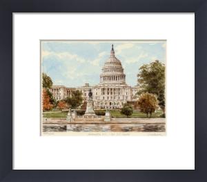 Washington - US Capitol by Glyn Martin