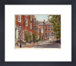 Boston - Beacon Hill by Philip Martin