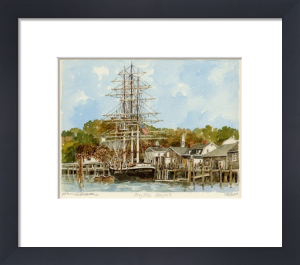 Mystic Seaport by Philip Martin