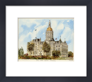 Hartford - State Capitol by Philip Martin
