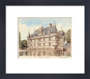 Azay-Le-Rideau by Glyn Martin