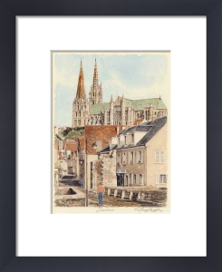 Chartres - de le pont by Glyn Martin