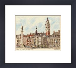 Lille - Place du Gen. de Gaul. by Philip Martin