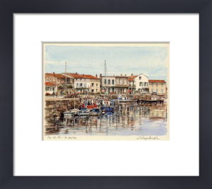 Ile de Re - St.. Martin by Glyn Martin