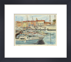 St. Tropez - le port by Philip Martin