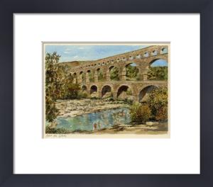 Pont du Gard by Philip Martin