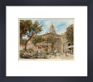 Avignon Place de l' Horloge by Philip Martin