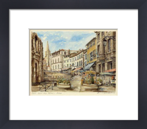 Arles - Rond Point des Arenes by Philip Martin