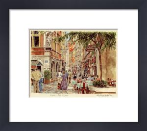 Lyon - Rue St. Jean by Glyn Martin