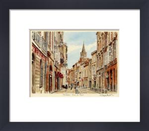 Toulouse - Rue de taur by Glyn Martin