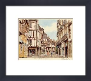 Vannes - rue de la Monnaie by Glyn Martin