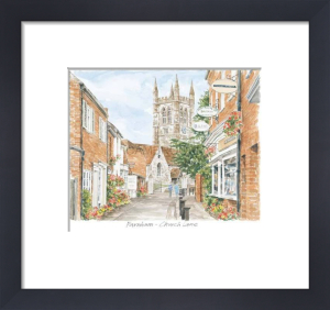 Farnham - Upper Church Lane by Glyn Martin