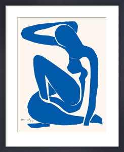 Blue Nude I by Henri Matisse