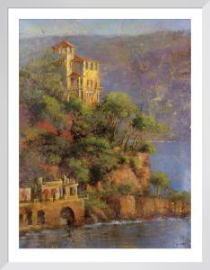 Mediterranean Hillside by Longo