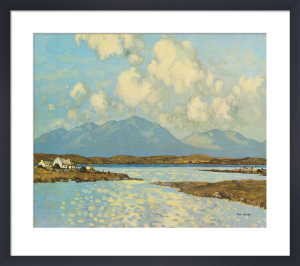 Connemara Cottages by Paul Henry