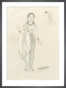Designs for Cleopatra LV by Oliver Messel