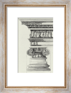 English Architectural II by The Vintage Collection