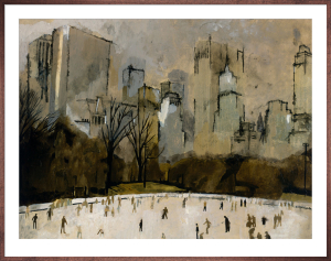 Winter In Manhattan by Georgie
