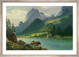 Rocky Mountains by Albert Bierstadt