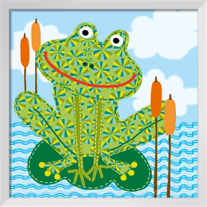 Frankie The Frog by Jessie Eckel