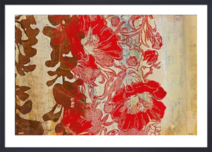 Silkscreen Floral by Marilyn Bridges