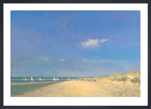 Summer Days At East Head by Paul Brown