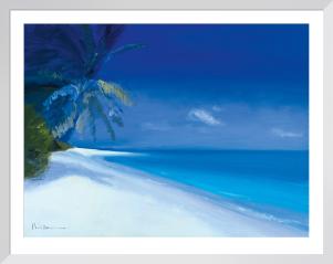 Tropical Beach I by Paul Brown