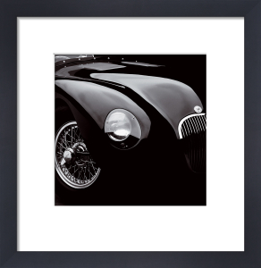 Jaguar C-Type (small) by Retro Series