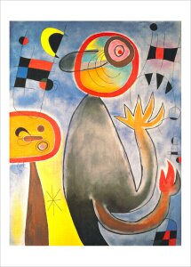 Animal Composition by Joan Miro