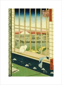 Asakusa Rice Fields during the Festival of the Cock by Ando Hiroshige