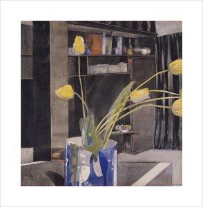 Yellow Tulips, c.1922 by Charles Rennie Mackintosh