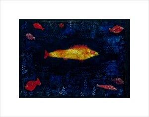 Der goldene Fisch (The Golden Fish), 1925 by Paul Klee
