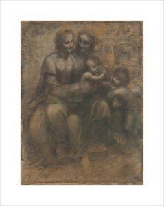 The Leonardo Cartoon by Leonardo da Vinci