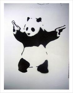 Pandamonium by Street Art