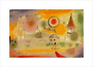 Winter day just before noon 1922 by Paul Klee