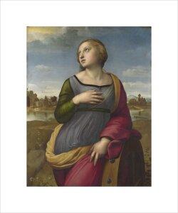 Saint Catherine of Alexandria by Raphael