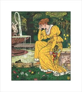 The Princess meeting the Frog by Walter Crane