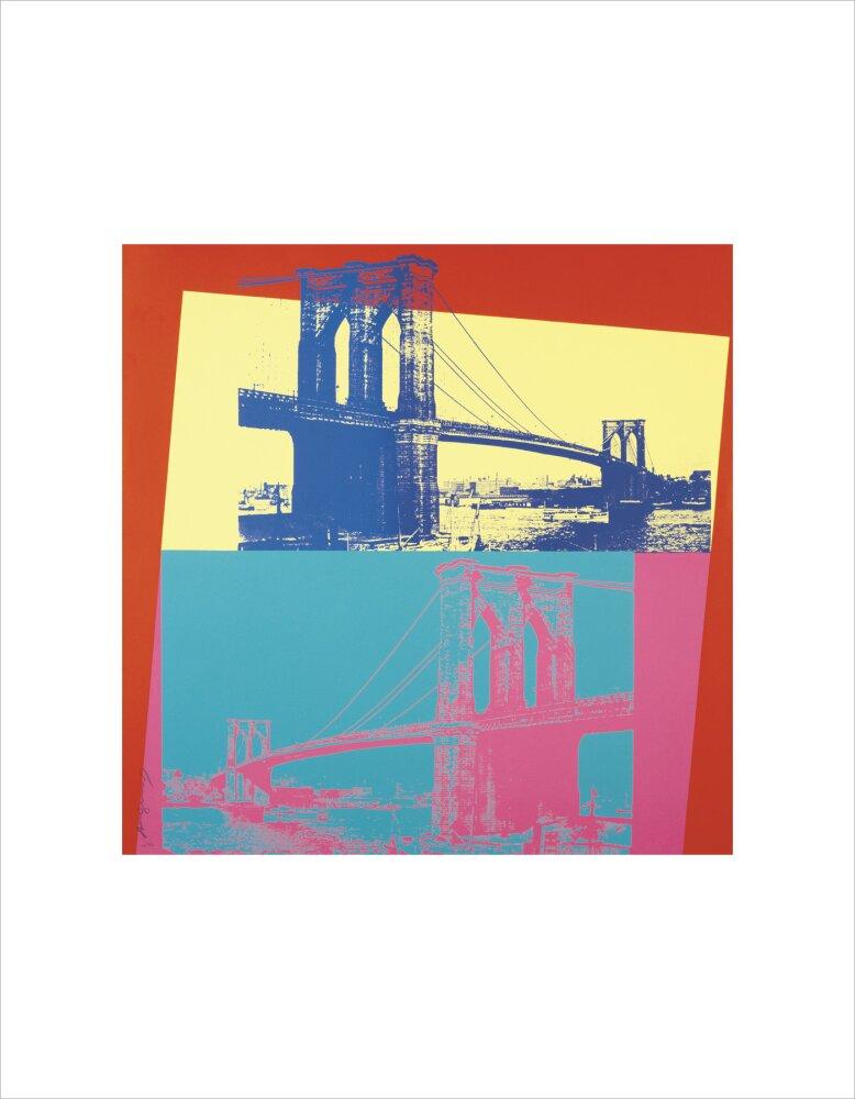 Brooklyn bridge 1983 art print by andy warhol king mcgaw brooklyn bridge 1983 malvernweather Gallery