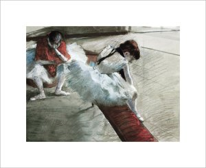 Gallery Player by Edgar Degas