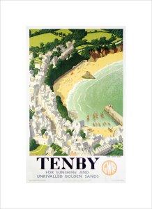 Tenby by Ronald Lampitt