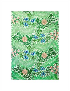 Larkspur by William Morris