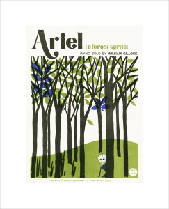 Ariel - a Forest Sprite by Anonymous