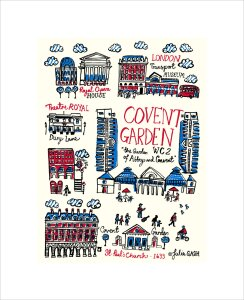 London - Covent Garden by Julia Gash
