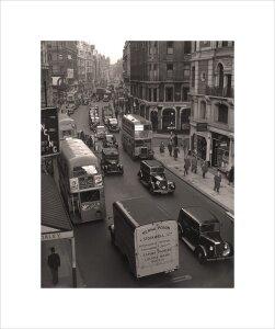 Rolls Royce in London scene by Anonymous
