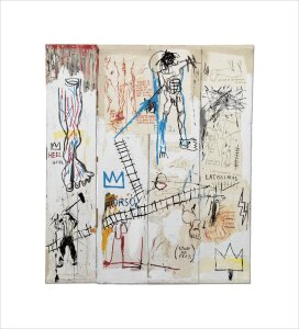 Leonardo da Vinci's Greatest Hits, 1982 by Jean-Michel Basquiat