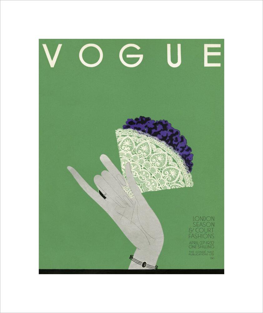 Vogue Vintage Framed Cover Print April 1932 Issue