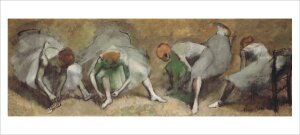 Frieze of Dancers c.1895 by Edgar Degas