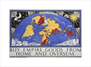 Empire Marketing Board, Highways Of Empire by Macdonald Gill