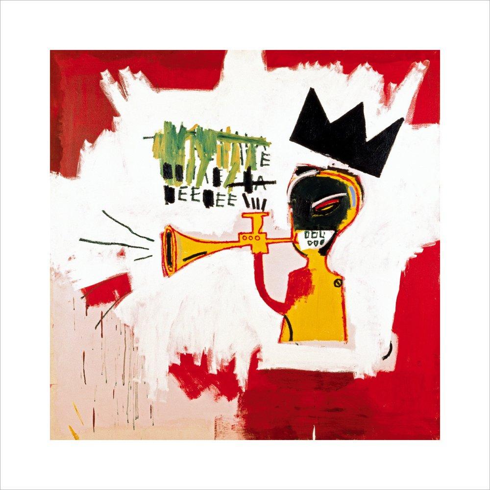 4f4972b5258c Trumpet, 1984 Art Print by Jean-Michel Basquiat   King & McGaw